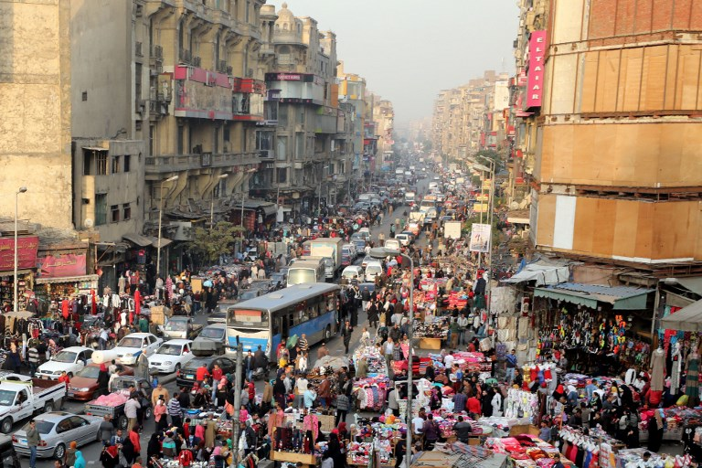 already crowded egypt struggles with catastrophic population