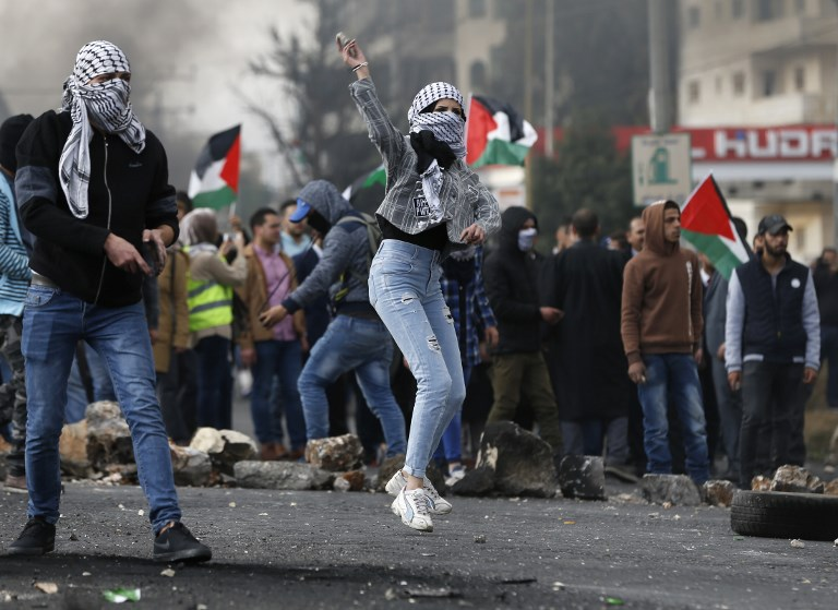 Undercover Israelis infiltrate Palestinian demo, open fire