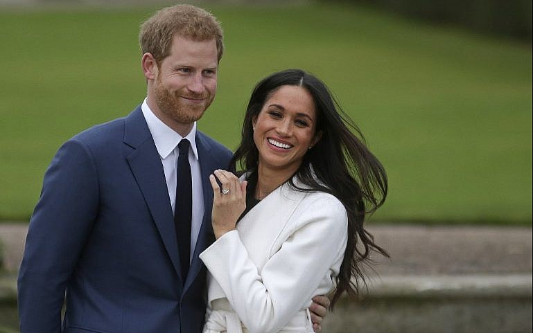 Image result for Prince Harry, who weds his US fiancee Meghan Markle