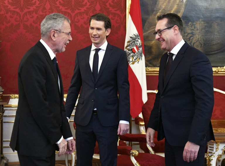 Far-right Freedom Party will control Austrian army in coalition deal
