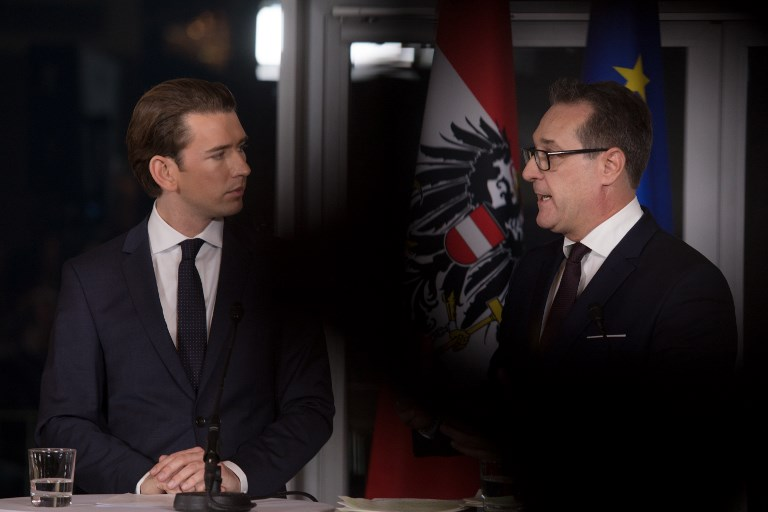 Austrian conservative leader confident of gov't by Christmas