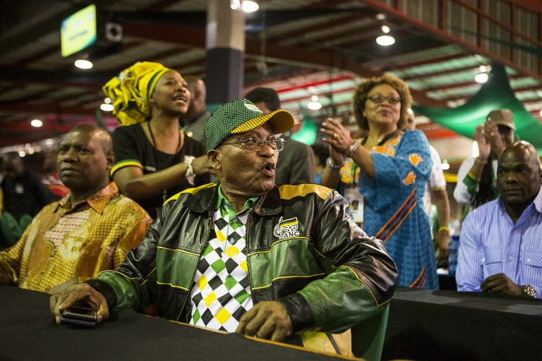 South Africa's ruling ANC party moves to downgrade ties with Israel
