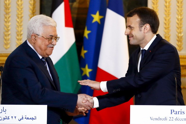 Macron To Unveil Peace Plan Soon If Trump Doesn T Top Diplomat Said To Tell Mks The Times Of Israel