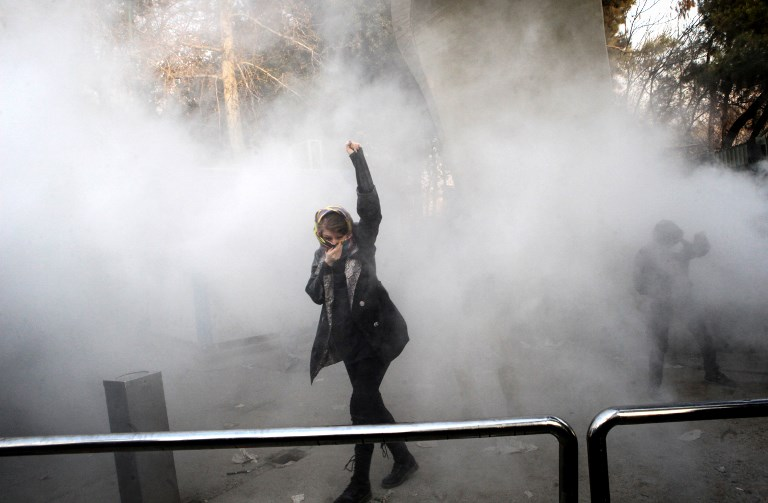 Protesters arrested in Iran on second day of demonstrations