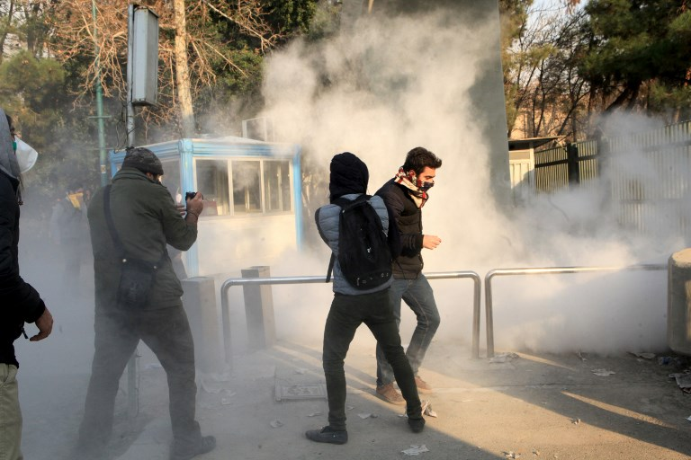 USA condemns arrest of anti-government protesters in Iran