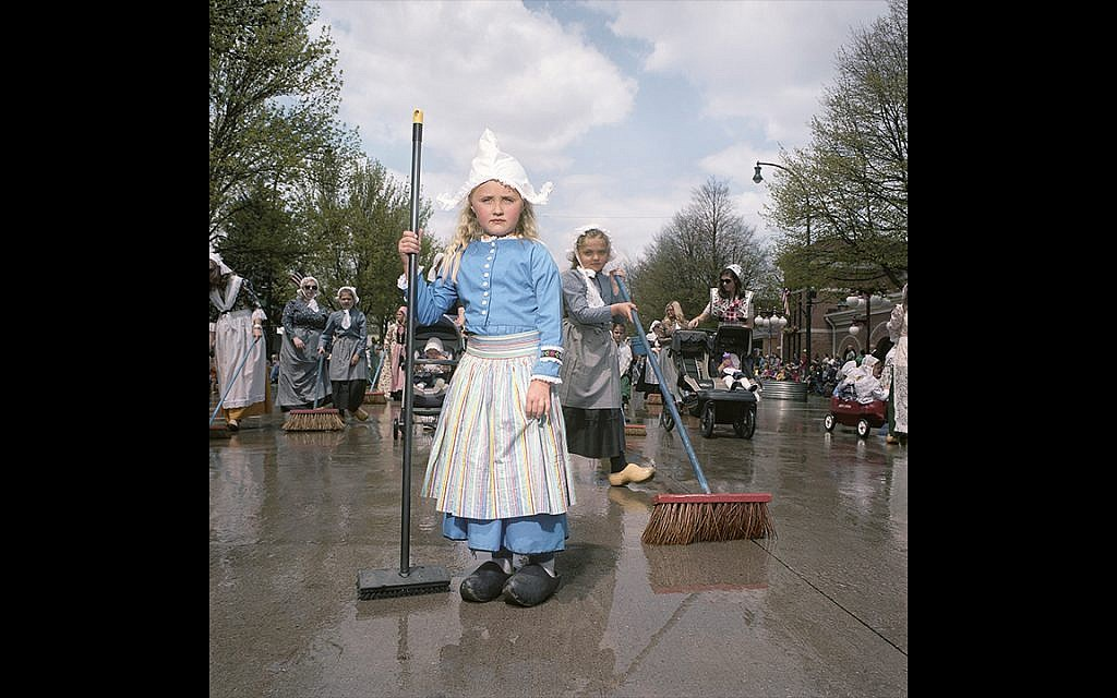 Street Scrubber, Tulip Festival, Orange City, Iowa, 2014 (Naomi Harris)