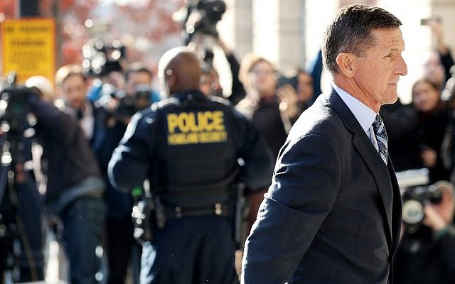 Michael Flynn, former national security adviser to US President Donald Trump, arrives for a plea hearing at the Prettyman Federal Courthouse on December 1, 2017, in Washington, DC. (Chip Somodevilla/Getty Images/AFP)