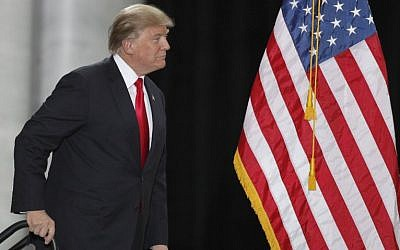 US President Donald Trump arrives for a speech at the Rotunda of the Utah State Capitol on December 4, 2017 in Salt Lake City, Utah. George Frey/Getty Images/AFP)