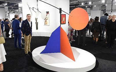 Art Collector Eugene Sadovoy attends Art Basel Miami Beach-VIP Preview at Miami Beach Convention Centre on December 6, 2017 in Miami, Florida.   (Nicholas Hunt/Getty Images for ADC/AFP)