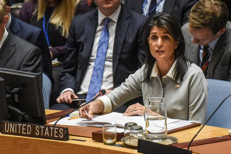 US Envoy Says Has 'Irrefutable Evidence' Iran Violating UN Restrictions