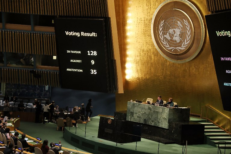 Jordanians hail UN General Assembly resolution on Jerusalem