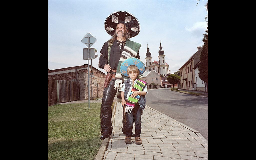 Mexican Father and Son, Brezno, Czech Republic, 2014 (Naomi Harris)