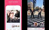 A new Israeli app lets you integrate animation and augmented reality into personalized, ready-to-share videos. (Courtesy)