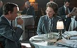 Meryl Streep and Tom Hanks in Steven Spielberg's 'The Post.' (Courtesy 20th Century Fox)