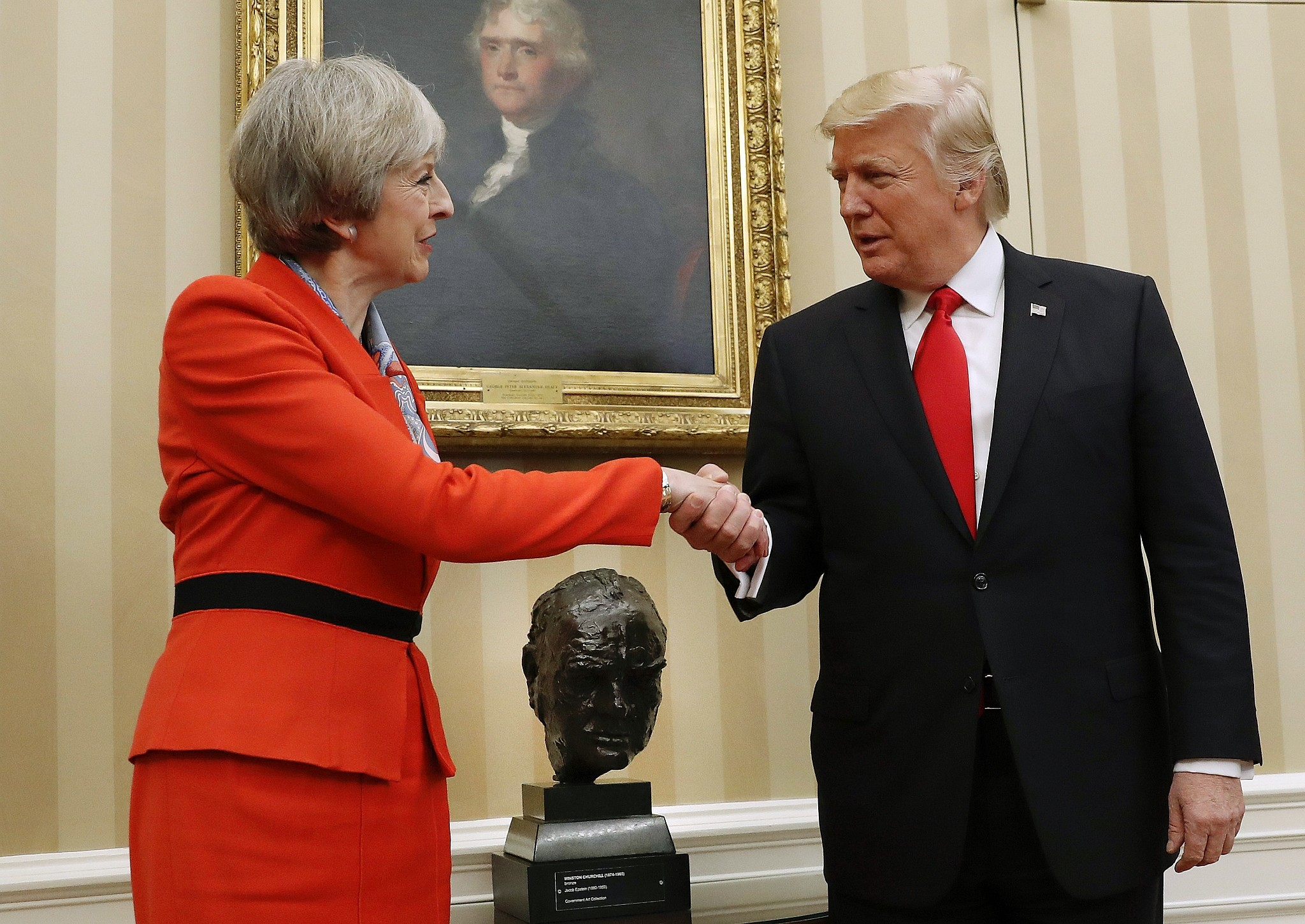 Image result for Trump & the UK