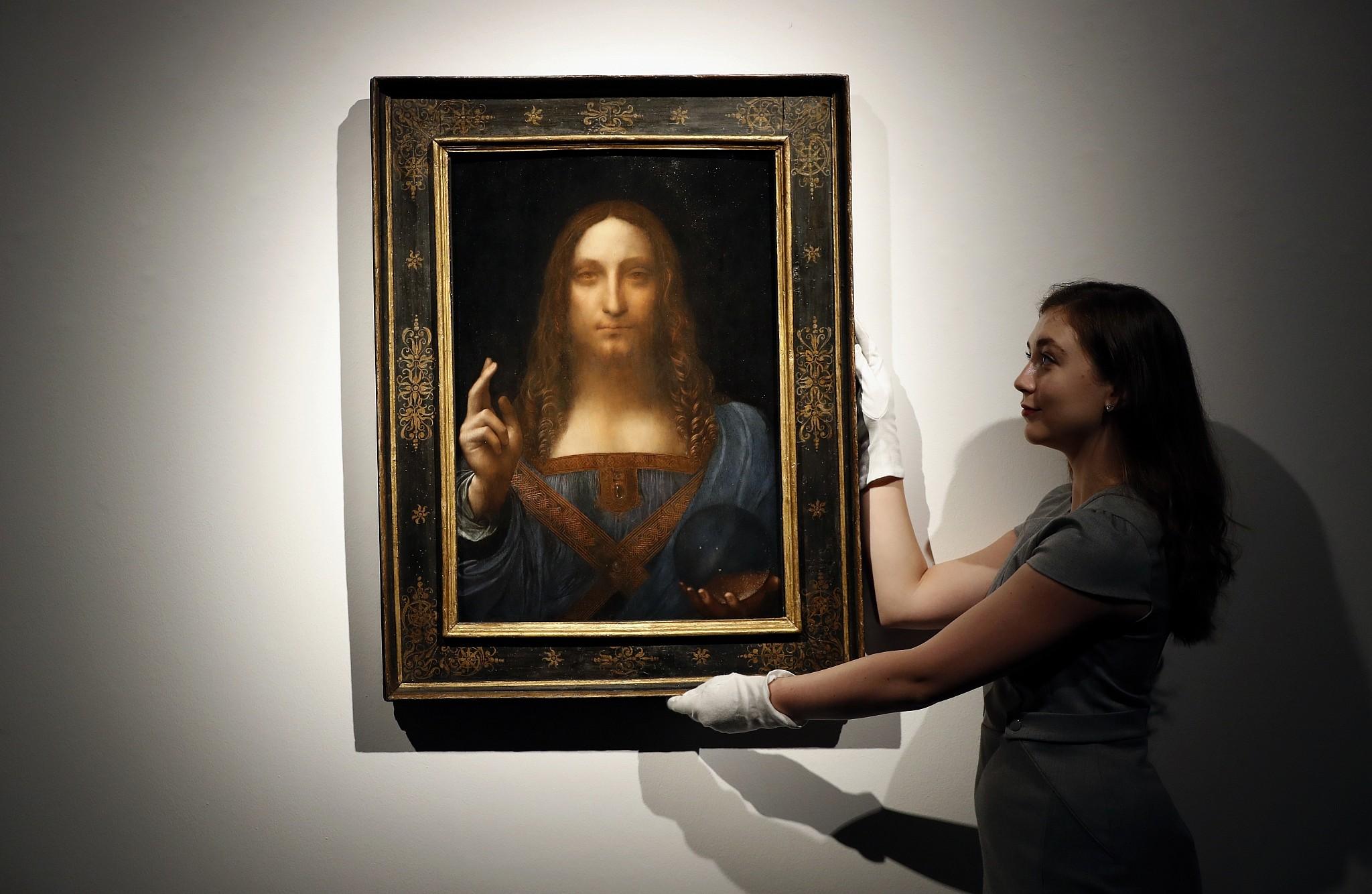 Abu Dhabi delays exhibition of da Vinci's 'Salvator Mundi