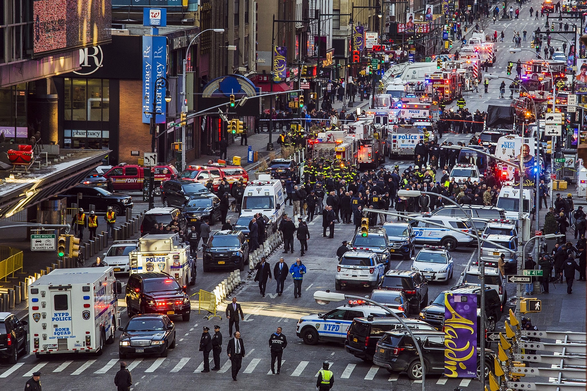 Port Authority Bombing Suspect >> New York bombing suspect said to claim he was angry at Israel over Gaza | The Times of Israel