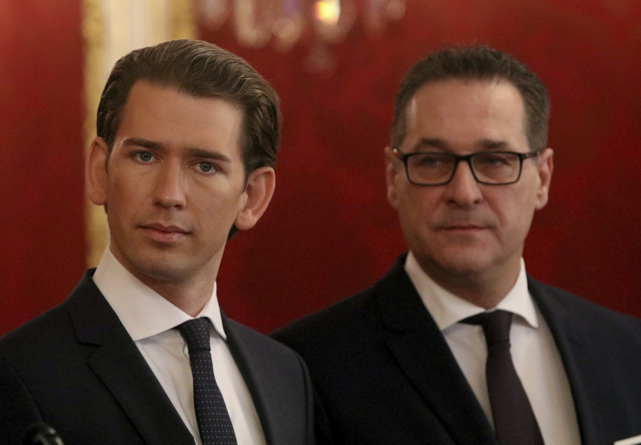 Austrian Coalition Gov't With Right-Wing Freedom Party Sworn in Amid Protests