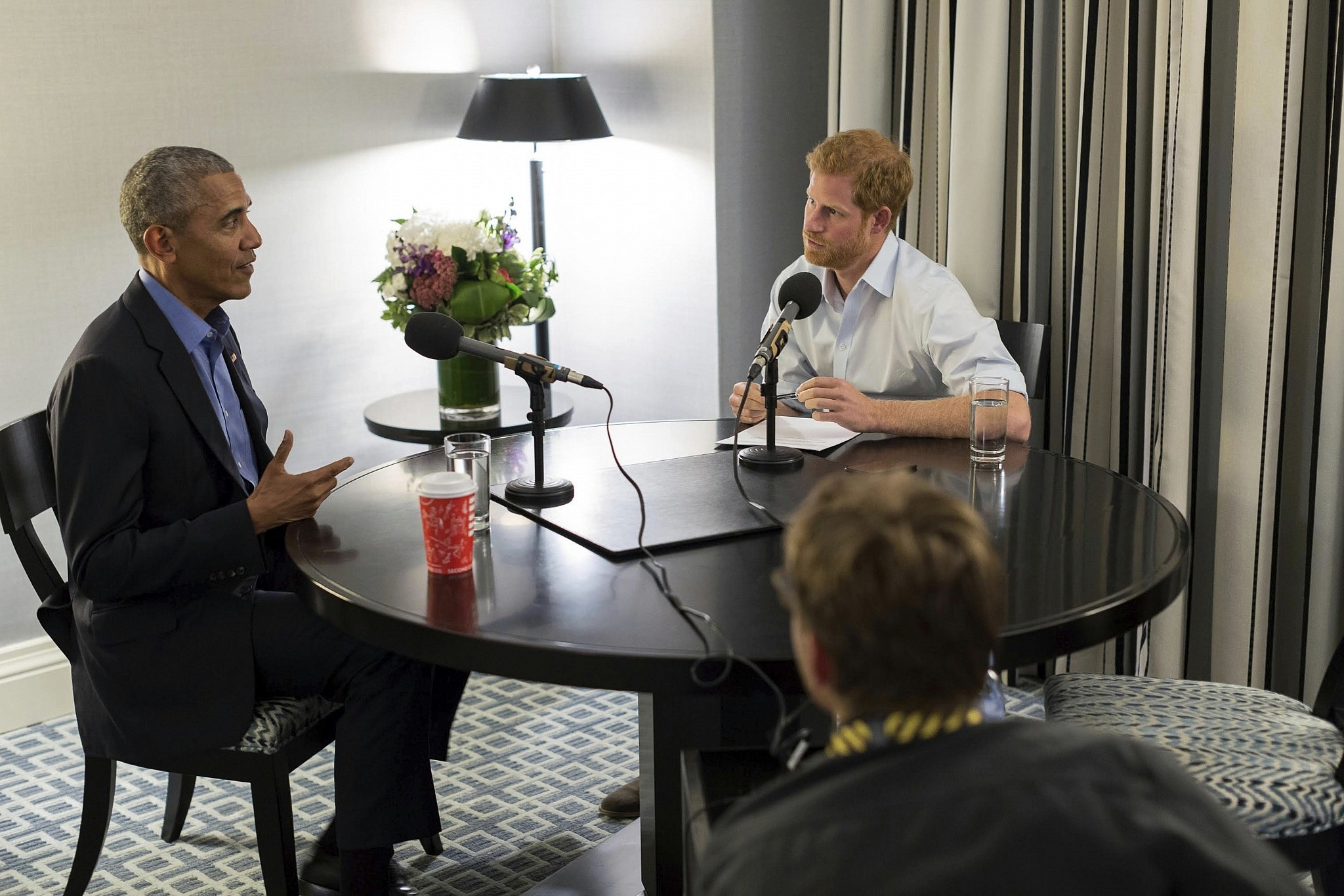 Obama uses interview with Prince Harry to warn of social media dangers