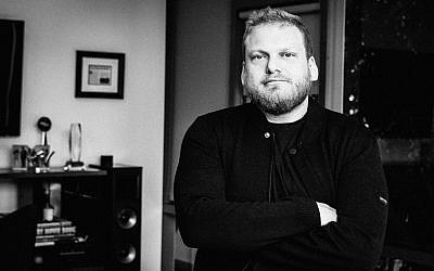 This photo provided by Travis Schneider shows Jordan Feldstein, longtime manager of Maroon 5 and brother of actor Jonah Hill, who died unexpectedly Friday from cardiac arrest at age 40. (Travis Schneider via AP)