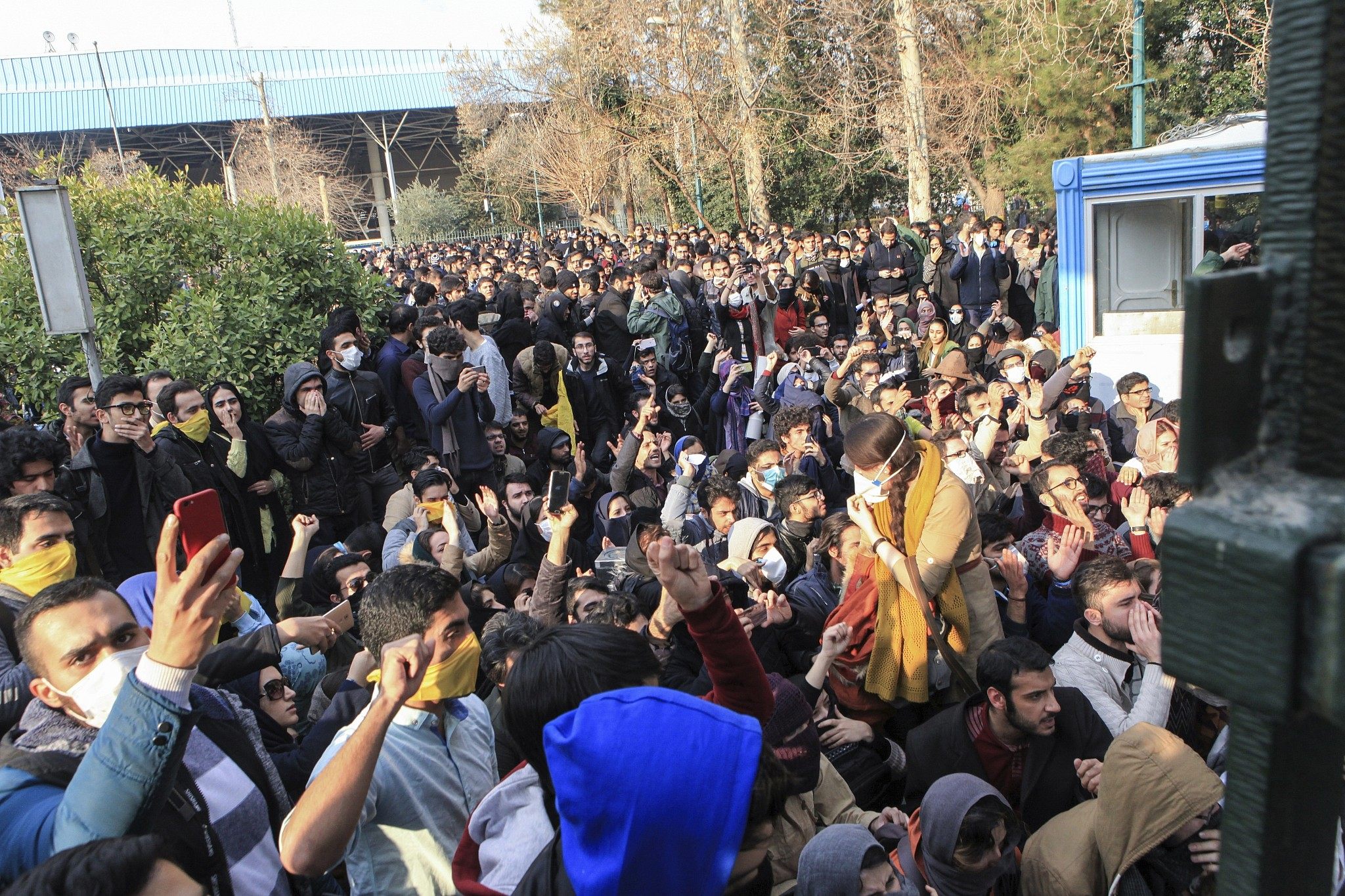 Iran warns protesters will 'pay the price'