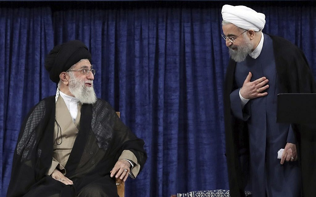 Iran leader slams his president, foreign minister over nuke deal handling