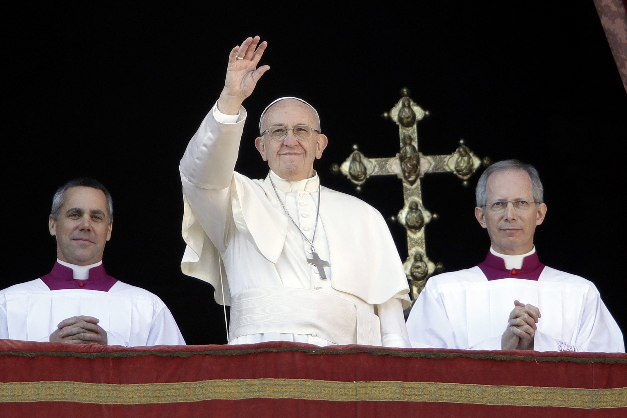 Mideast needs two-state solution: Pope