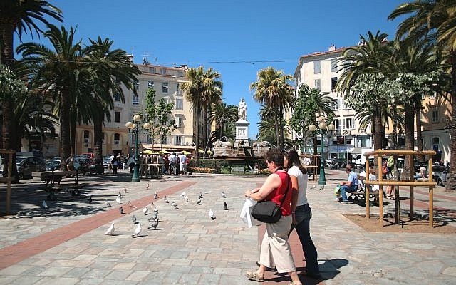 Illustrative image of Foch Square in the Corsican capital Ajaccio. (Wikipedia/Jean-Pol Grandmont/CC BY)