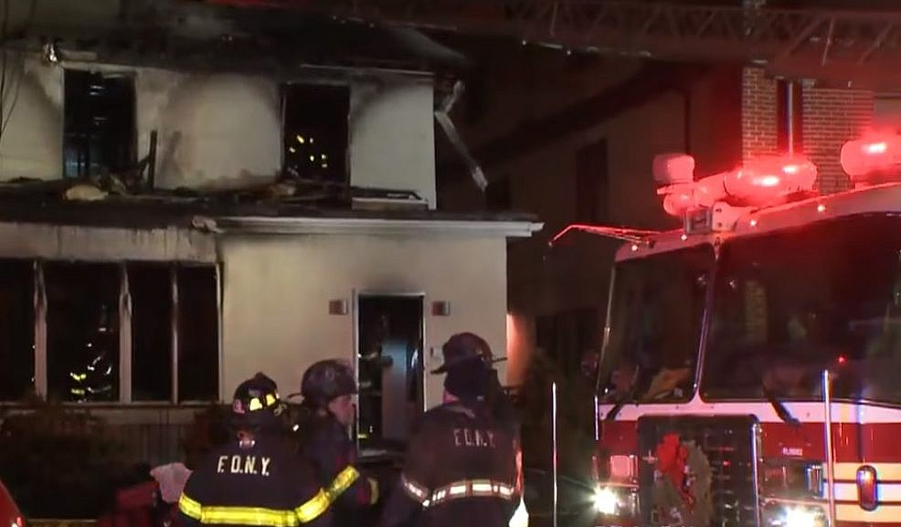 Brooklyn house fire kills woman, children, officials say