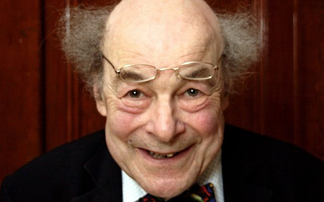 Prof. Heinz Wolff at the Ealing Town Hall, 2010. (P.G. Champion, CC-BY-SA, via Wikipedia)