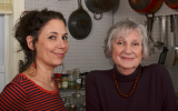 Sonya Gropman, left, and Gabrielle Rossmer Gropman, authors of 'The German-Jewish Cookbook: Recipes & History of a Cuisine.' (Courtesy)