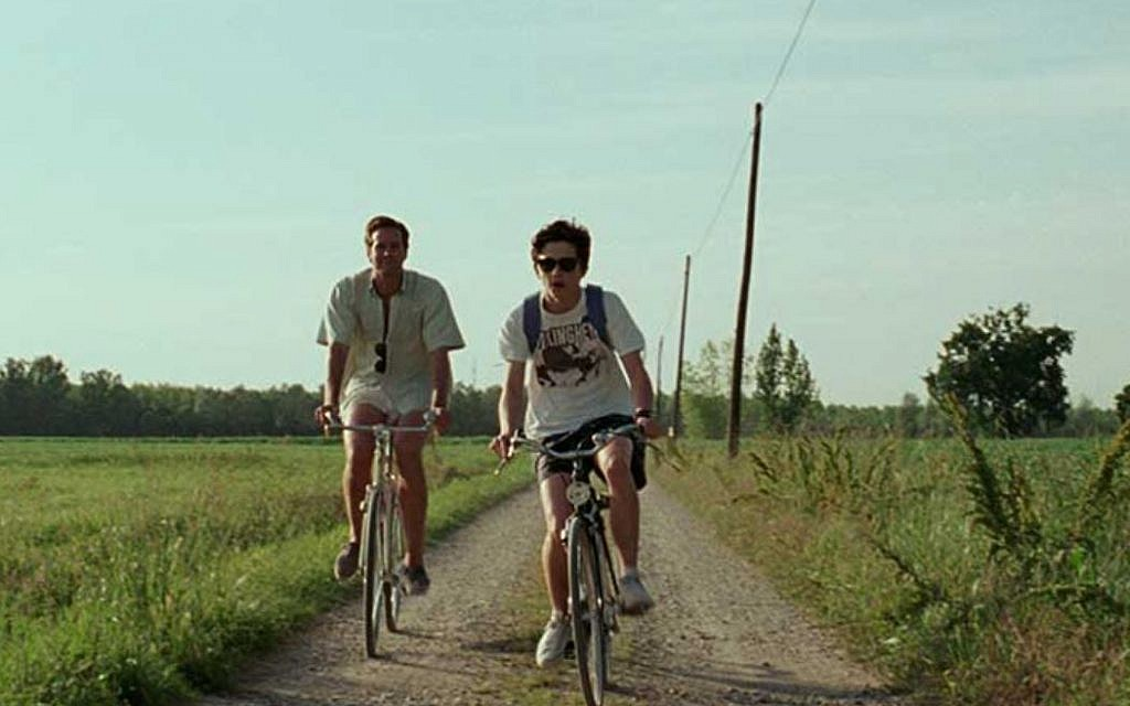 Armie Hammer (left) and Timothée Chalamet in 'Call Me by Your Name.' (Courtesy Sony Classics)