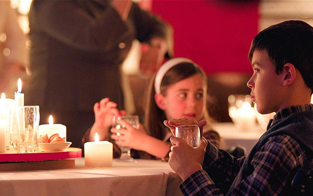 still from filmmaker larry weinsteins dreaming of a jewish christmas - Adam Sandler Christmas