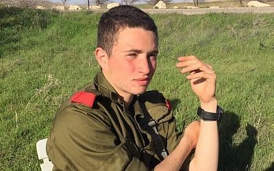 Ron Yitzhak Kokia, an IDF soldier who was stabbed to death in an apparent terror attack on November 30, 2017. (Israel Defense Forces)
