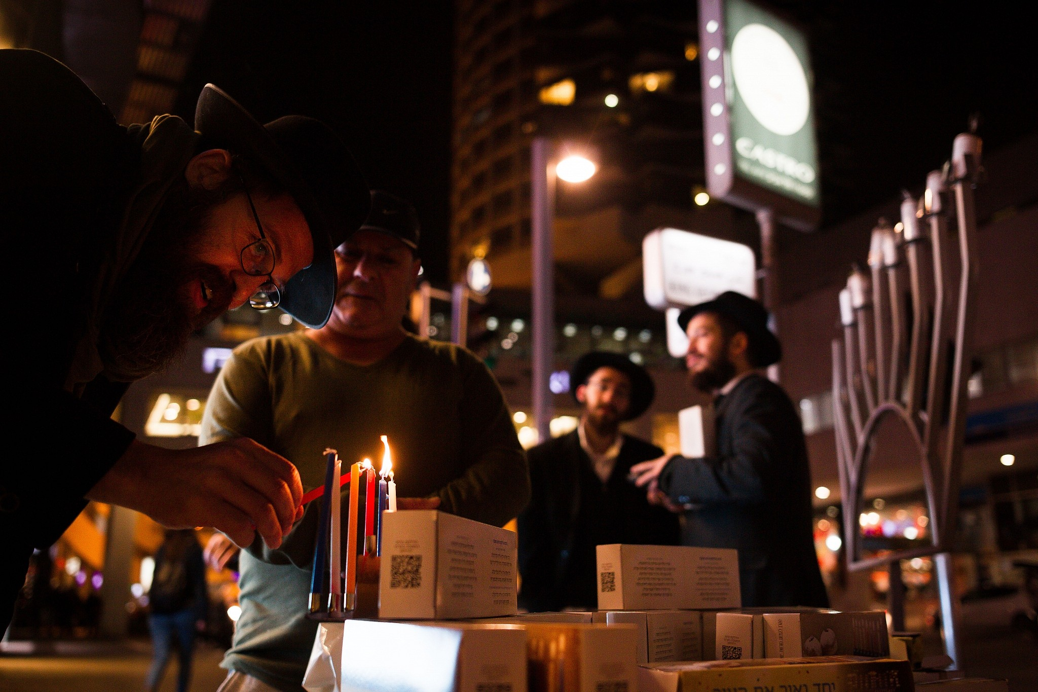 Candlelighting at Tel Avivu0027s Rabin Square last Hanukkah in 2016 (Sebi Berens/Flash 90) & December brings a holiday for everyone with celebrations ... azcodes.com