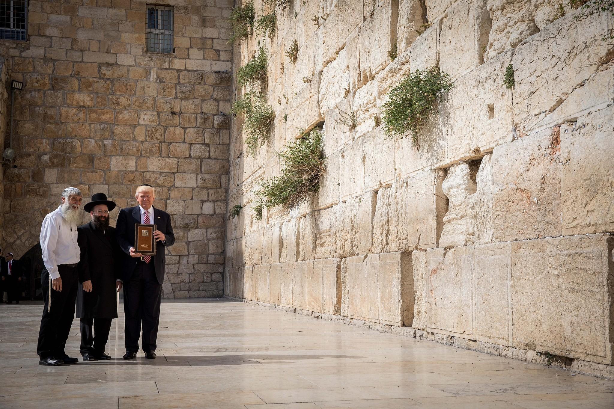 Planned Western Wall t...