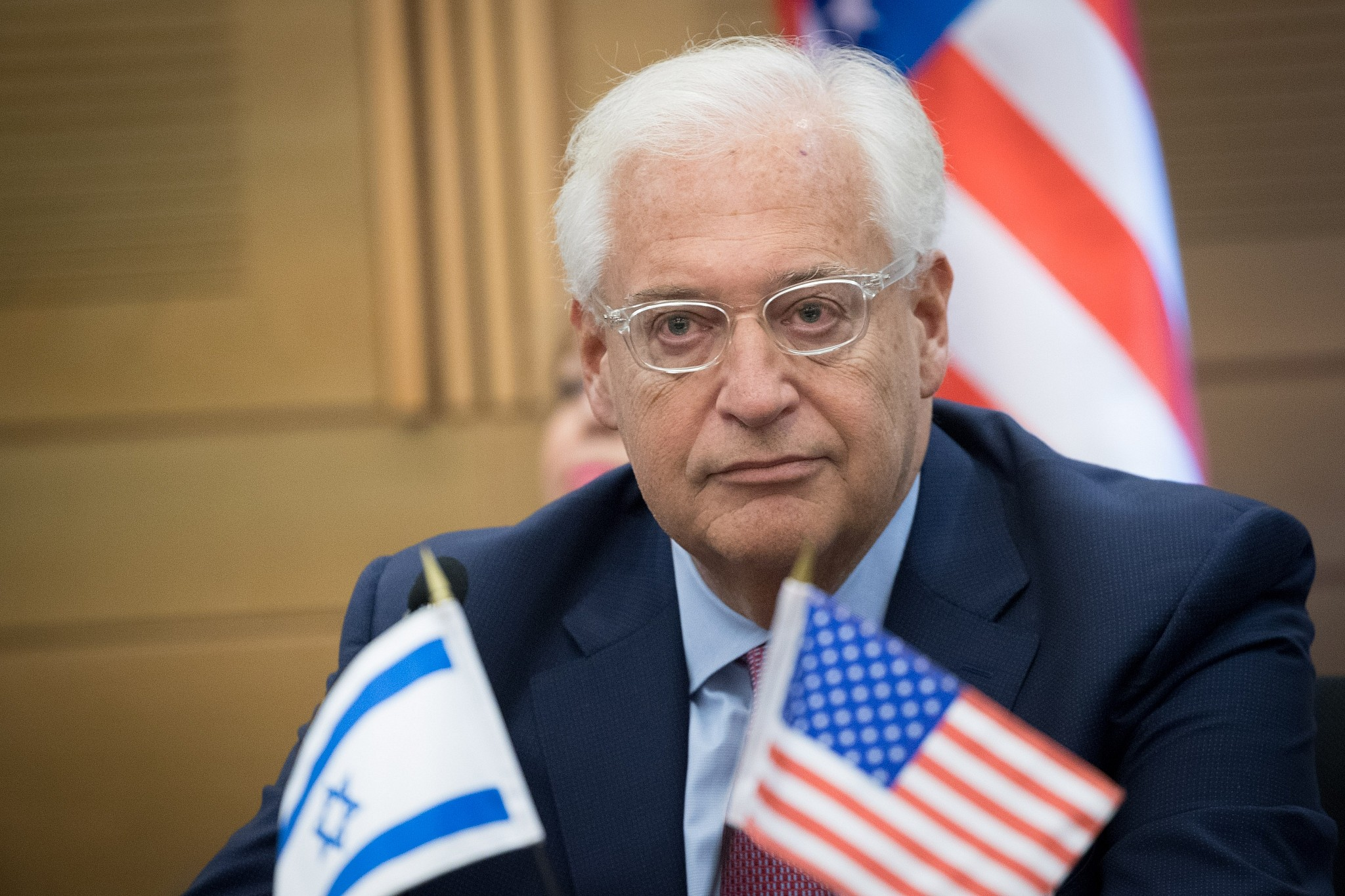 USA envoy: Stop calling West Bank 'occupied'