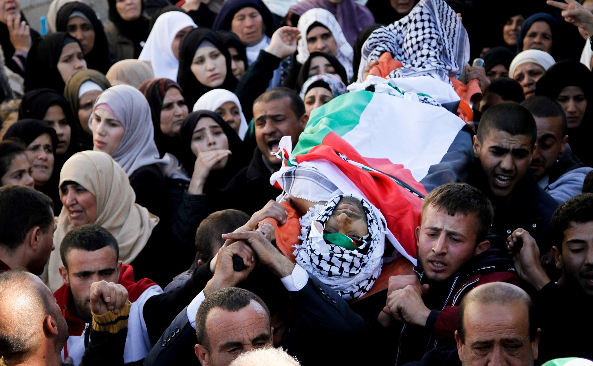 Palestinian reportedly killed — Clashes near Qusra