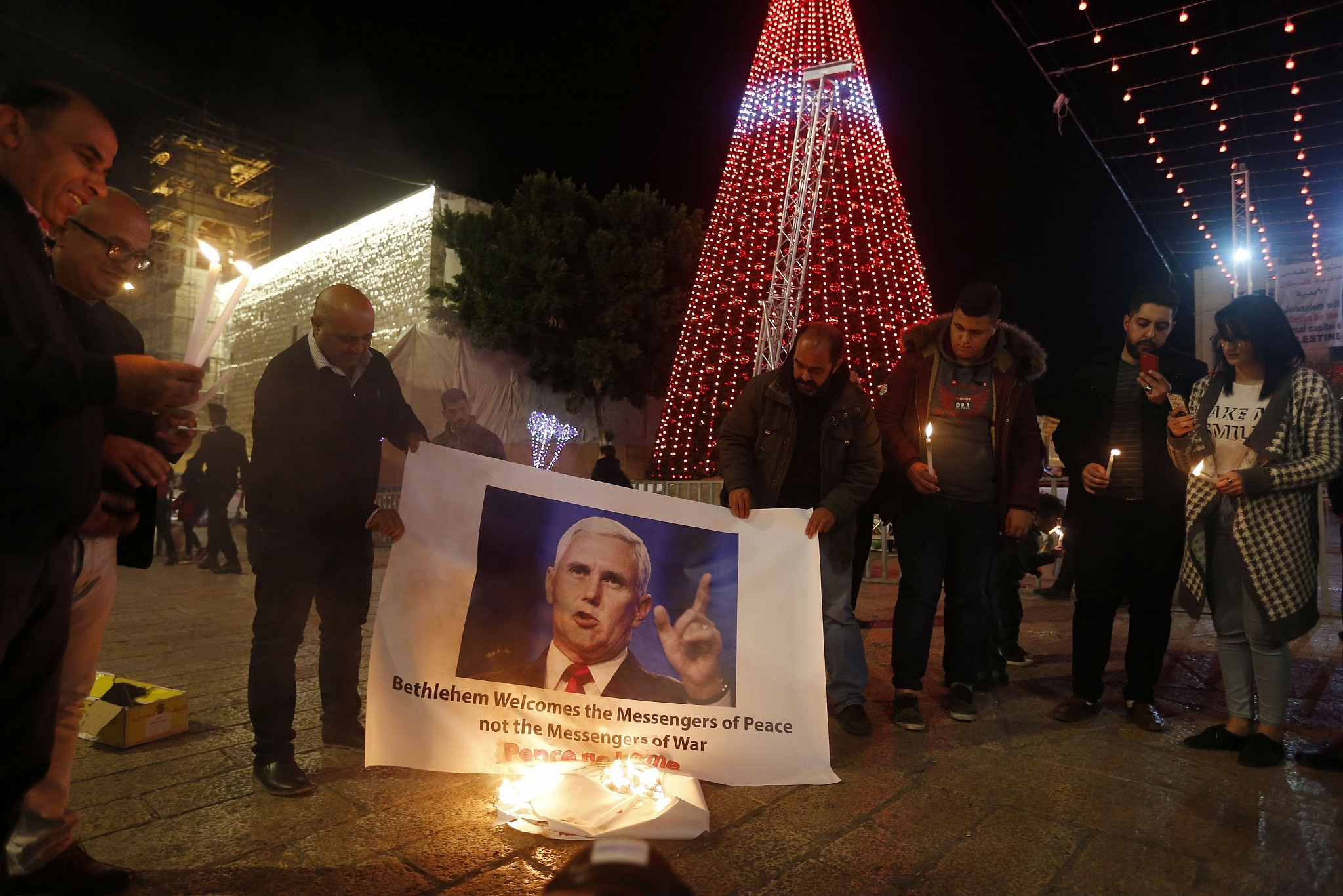 Pence Postpones Mideast Trip Again, Israeli Official Says