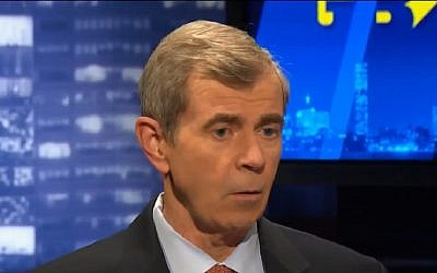 William Galvin, Secretary of the Commonwealth of Massachusetts speaks on WGBH news, March 18, 2015. (Screen capture: YouTube)