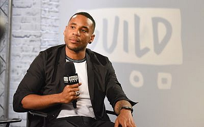 Reggie Yates in London, Sept. 7, 2017. (Nicky J Sims/Getty Images via JTA)