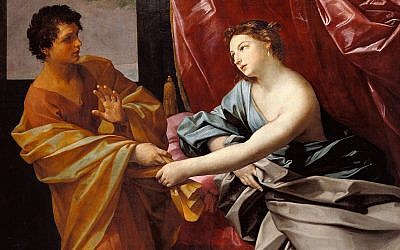Joseph and Potiphar's Wife, by Guido Reni 1630. (Wikipedia)