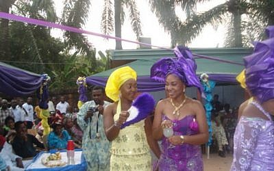 Igbo traditional wedding at Nnewi. (Wikimedia Commons)