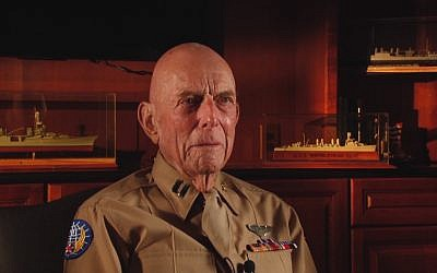 Screen capture from video of World War Two veteran Jerry Yellin who flew the last combat mission of the war. (YouTube)