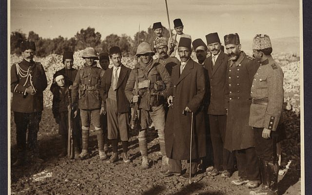 The surrender of Jerusalem, December 7, 1917 (Courtesy of the Library of Congress Prints and Photographs Division, Washington, DC)