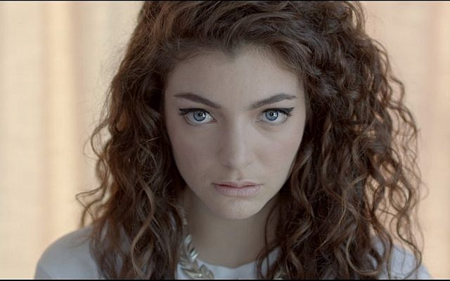 New Zealand singer Lorde appears in 2013 video for 'Royals.' (Screen capture: YouTube)