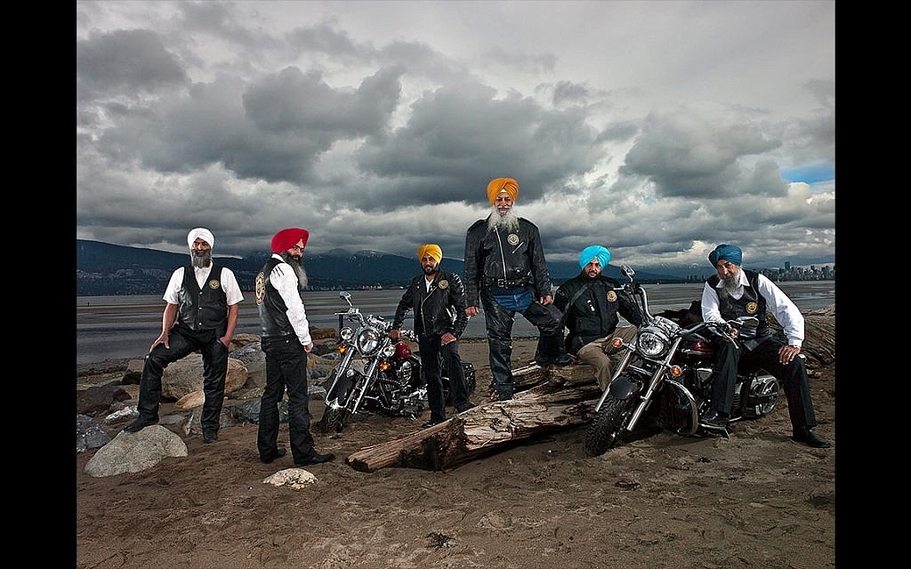 Sikh Motorcycle Club, Vancouver, British Columbia, March 2012 (Naomi Harris)