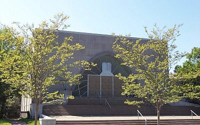 The Ohev Sholom synagogue in Washington, DC. (Wikimedia Commons via JTA)