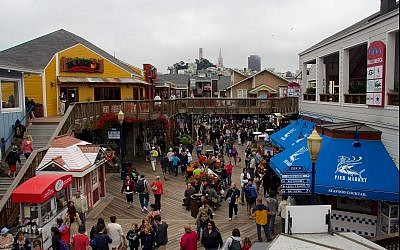 San Francisco's Pier 39. (CC BY-SA 4.0, Mike Peel, Wikimedia Commons)
