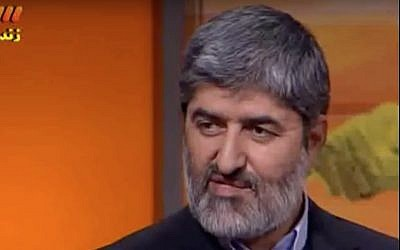Ali Motahhari (Screen capture: YouTube)